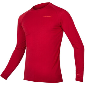 Endura BaaBaa Blend Longsleeve Baselayer Heren, rust red
